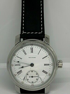 Waltham 16s 15 jewel pocket custom watch conversion to Wristwatch