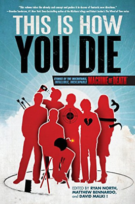 Bennardo Matthew-This Is How You Die BOOK NEW