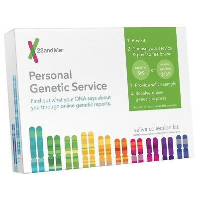 23andMe DNA Test - Health and Ancestry - 1/29/2020 - NEW, SEALED, UNOPENED BOX