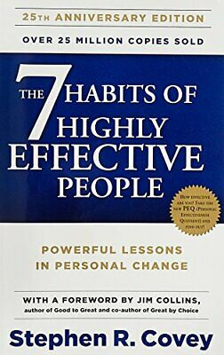 The 7 Habits Of Highly Effective People, Covey, Stephen R., Used; Good Book