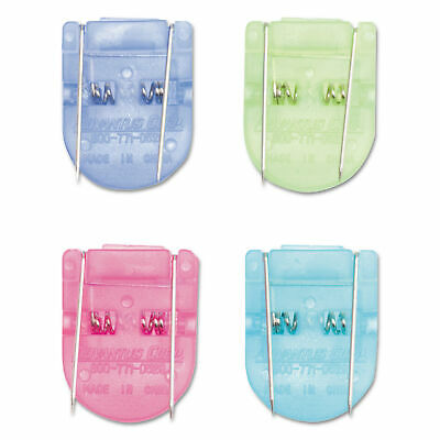 Advantus Fabric Panel Wall Clips, Standard Size, Assorted Cool Colors, 50/Pack,