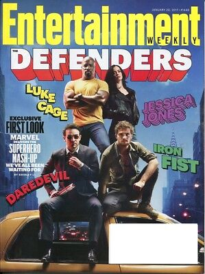Entertainment Weekly Magazine 1-20-17 - The Defenders, Daredevil, Luke Cage
