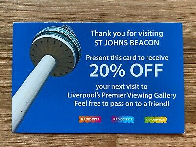 St John's Beacon - Liverpool - Observatory Viewing Gallery 20% off voucher
