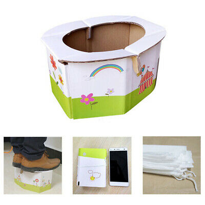 Kids Portable folding potty seat for girl or boy - baby travel toilet trainingHC