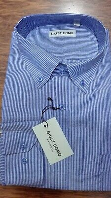 camicia uomo classica Giust collo botton down regular fit manica lunga cotone