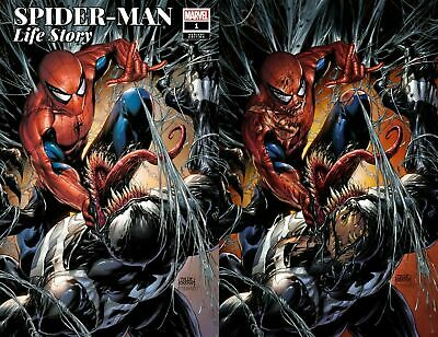 Spider-Man Life Story #1 Tyler Kirkham Variant Set A&B Virgin Vf/Nm Venom