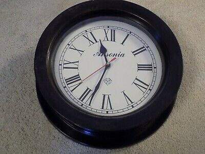 "10"" Ansonia Wall Clock"