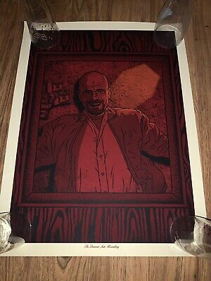 Todd Slater Descent Into Heisenberg Poster Limited Edition Breaking Bad Not Foil