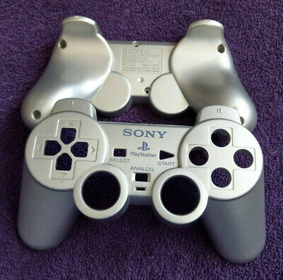 Official Sony Playstation 2 (Ps2) Controller Shell - Silver - Scph-10010