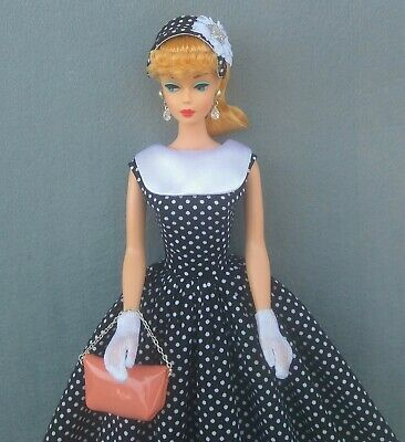 ooak fashion for silkstone Barbie  Vintage Reproduction Repro ,quarrier liang
