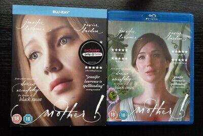 Mother! (2017) Blu Ray Hmv Exclusive Limited Edition With Slipcase / Slipcover