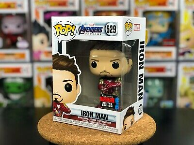 529 Funko POP! Marvel Avengers Iron Man w/ PROTECTOR NYCC Shared Exclusive