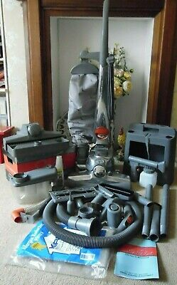 Kirby Sentria Vacuum Cleaner With Caddy, Tools As Pictured, Manual & Shampooer.