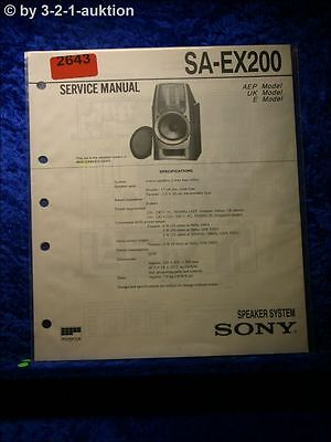 sony sa-ex200 active speakers