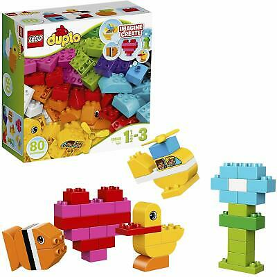 LEGO 10848 Duplo My First Bricks Imagine And Create Endless Building Toy Set