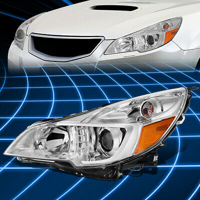 For 10-14 Subaru Legacy Outback Left Side Projector Headlight Lamp Replacement