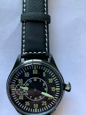 Marriage Watch Aviation 6497 (#7) 17J pocket watch conversion