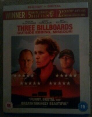 Three Billboards Outside Ebbing, Missouri (Blu-ray) Frances McDormand