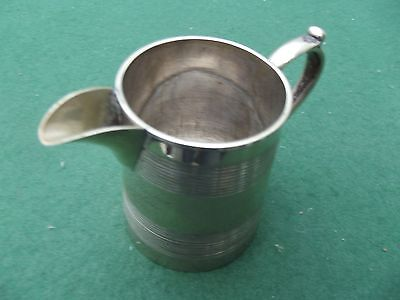 Vintage Silver Plated Christening Jug Dated 1872