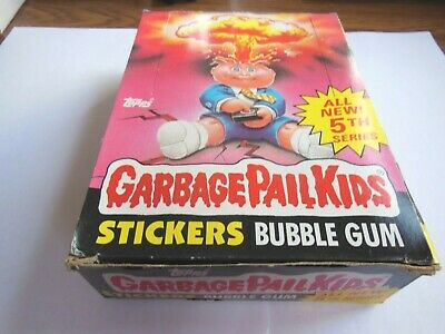 1986 86 Garbage Pail Kids USA 5th Series 1 Unopened Pack 1 (x) packs available B