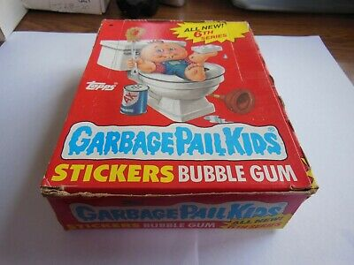 1986 86 Garbage Pail Kids USA 6th Series 1 Unopened Pack 1 (x) packs available
