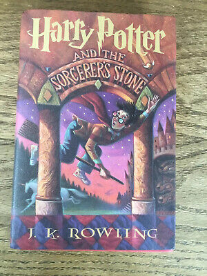 Harry Potter and the Sorcerers Stone  HB W/DJ Book Club Ed Smaller Size Rowling