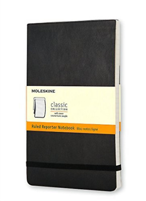 Moleskine (Cor)-Moleskine Ruled Soft Reporter Notebook Pocket BOOK NEW