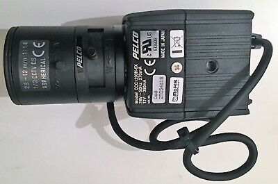 Pelco CCC1390H-6X Day/Night CCTV Security Camera with 2.8 - 12 mm lens