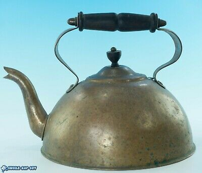 Antique Copper Kettle Gypsy/Barge/Stove Film Prop