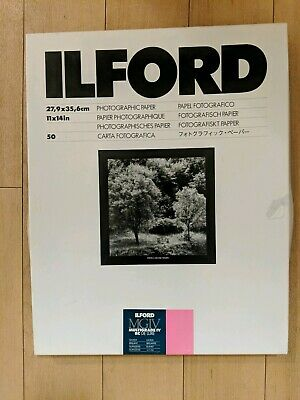 """Ilford MGIV Multigrade IV RC De Luxe Glossy 11x14"""" Photographic Paper 23 Sheets"""