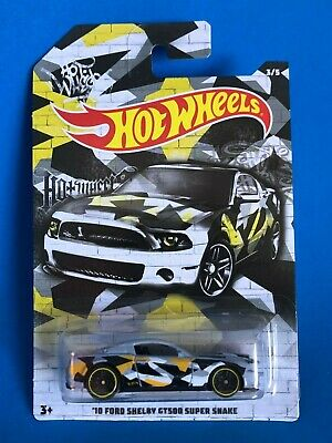 2019 Hot Wheels Camo Series 10 Ford Shelby Gt500 Super Snake Mustang   3/5