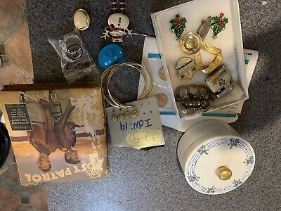 Assorted Lot U.S. Coins ,Jewelery, And Big Little Book