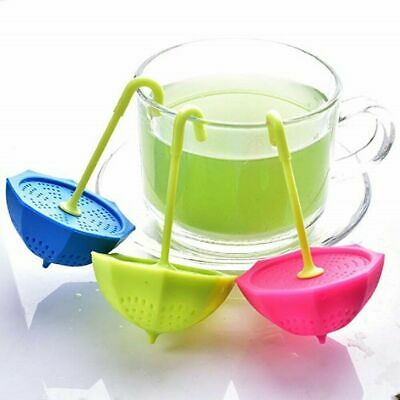 3P Cute Loose Leaf Silicone Tea Infuser Strainer Perfect Gift Tea Lovers