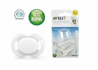 Philips AVENT Advanced Orthodontic Soother SCF184/13 (0-6 Months) - White