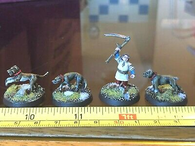FARMER MAGGOT AND DOGS Hobbit Painted Middle Earth SBG GW LOTR Lord of the Rings