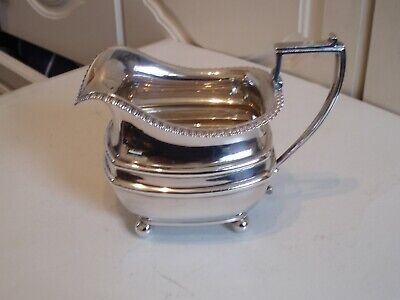 Vintage Silver Plated Milk/Cream Jug