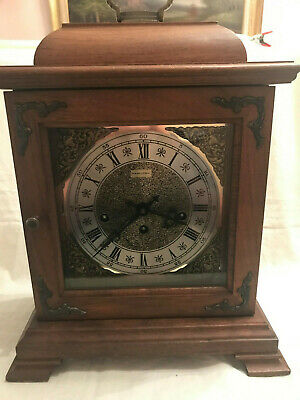 Vintage Hamilton Mantle Clock - Key Wind, 5 Hammer chimes, German Movement