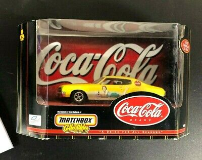 New-Matchbox Collectibles Coca Cola 1970 Ford Chevelle Ss 454     1423