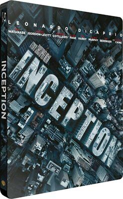 INCEPTION STEELBOOK Blu Ray NEUF SOUS BLISTER