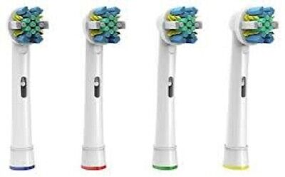 Floss action toothbrush heads EB-25A compatible with oral b toothbrushes