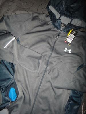 UNDER ARMOUR STORM TECH COLD GEAR FLEECE HOODIE JACKET SIZE 5XL MEN NWT $100.00+