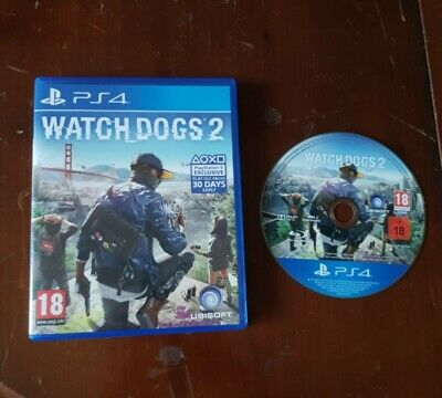 Watch dogs 2 game Playstation ps4