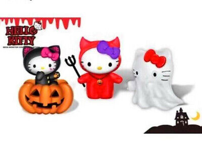 2019 SANRIO Hello Kitty  KFC Halloween Happy Meal Toys Completed Of 3 PCS NIP