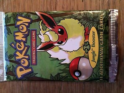Pokemon Trading Card Game Booster - SEALED - JUNGLE BOOSTER