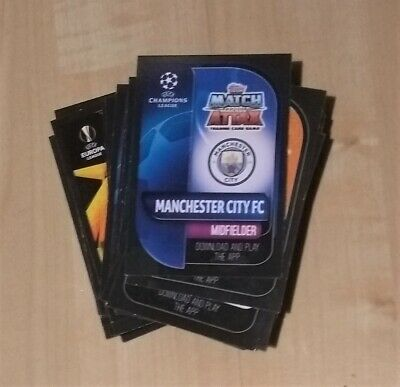 Match Attax 2019/20 BUNDLE - 30 CARDS - NO DOUBLES Topps 2020