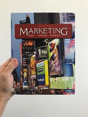 Marketing Textbook 11th Edition Kerin Hartley Rudelius Free Shipping