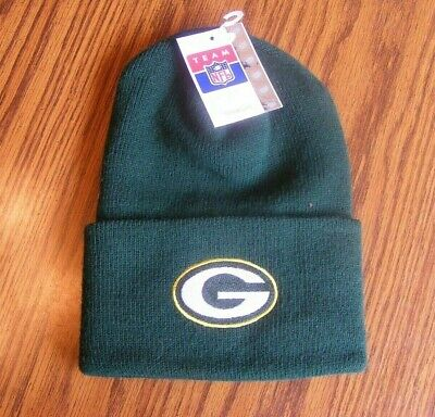 New Official NFL GREEN BAY PACKERS Winter Beanie Stocking Knit Hat Cap - 1 Size