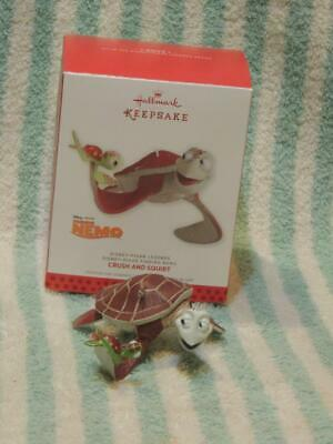 2013 Hallmark CRUSH and SQUIRT #3 Disney Pixar Legends FINDING NEMO Ornament