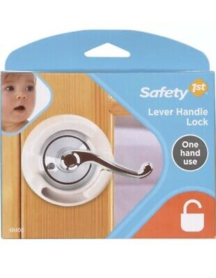 Safety First Lever Handle Lock One Handed Operstion
