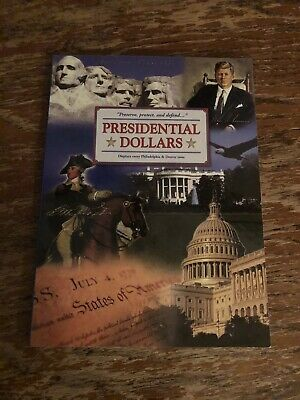 2 Empty Littleton Presidential 2007-2016 Dollar albums. 5 pages Holds 88 coins